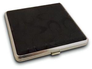 WHITE LABEL - jolie boite à cigarette noire à motif boite access - Astuccio Per Sigarette