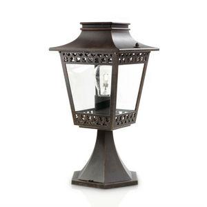 Philips - hedge - borne extérieur rouille h35cm | luminaire  - Lampada Segnapasso Da Esterno
