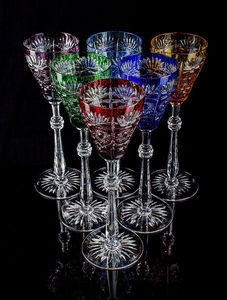 TSAR IMPERIAL - tsarina goblet set of 6 - Calice