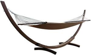 KOKOON DESIGN - hamac slappe en bois d'eucalyptus et toile coton - Amaca
