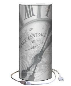 Plage Des Demoiselles - lampe à poser gare centrale 30x12cm - Lampada Da Tavolo