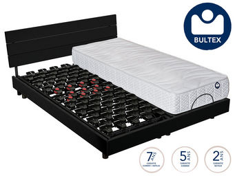 Bultex - ensemble relaxation bultex wave 600 + matelas i-no - Materasso + Sommier
