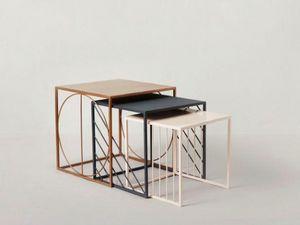INDIGI DESIGNS - ndemetric  - Tavolini Sovrapponibili
