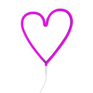 A LITTLE LOVELY COMPANY - neon coeur - Lampada Da Parete
