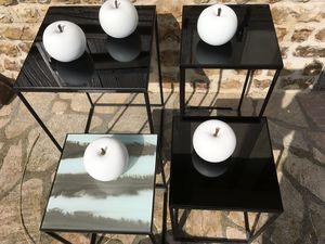 LA VILLA HORTUS - dark mirror- - Tavolino Quadrato