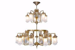 PATINAS - triest 15 armed chandelier - Lampadario