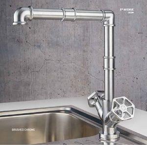 ITAL BAINS DESIGN - robinet de cuisine 5th avenue 22535 - Miscelatore Lavandino / Lavabo
