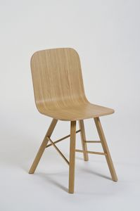 COLE - tria simple wood chair - Sedia