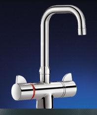 DELABIE - securitherm lavabo - Miscelatore Lavandino / Lavabo
