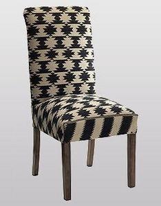 Andrew Martin - kelim dining chair - Sedia