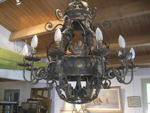 ANTIQUITES THUILLIER - lustre style baroque - Lampadario