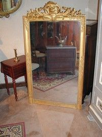 Au Mobilier Vendéen - glace directoire - Specchio