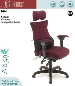 Albion Chairs - spynamics - Poltrona Ufficio
