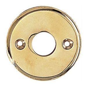 FERRURES ET PATINES - porte bequille rond en laiton pour porte d'entree - Bocchetta Per Serratura Mobile
