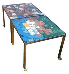 PIXELS DE MER -  - Tavolino Di Servizio