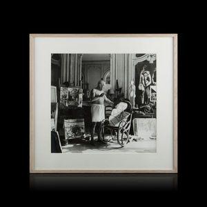 Expertissim - andré villers - picasso à cannes, 1956 - Fotografia
