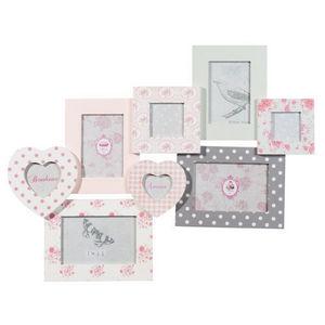 Maisons du monde - cadre multivues lovely flower - Cornice Per Bambino