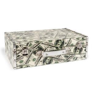 MAISONS DU MONDE - valise dollars - Valigia