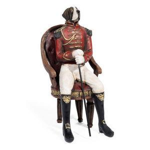 MAISONS DU MONDE - saint-bernard assis - Figurina