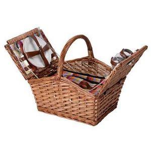 La Chaise Longue - panier pique-nique coloré 2 personnes - Cestino Da Picnic