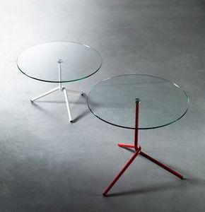 PAOLO CAPPELLO - fil side tables - Tavolino Rotondo