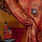 Passementerie Mayer - embrasse bois aimantée - Nappa Per Tenda