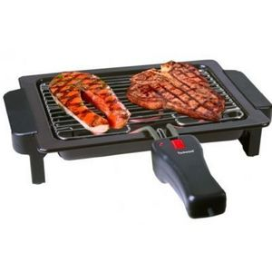 TECHWOOD - barbecue grille duo avec poignée pour grille - Barbecue Elettrico