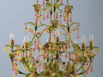 SUSSIEBIRIBISSI - orange blomming - Lampadario
