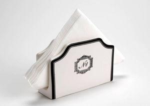 Amadeus - range serviettes en dolomite grand hôtel 15x5x10cm - Portatovaglioli Di Carta