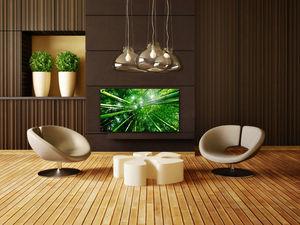 CHEMIN'ARTE - radiateur électrique design bambou forest 86x9x47c - Radiatore Elettrico