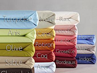 Essix home collection - essix coton taie de traversin - Federa Per Cuscino Cilindrico