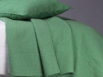 BLANC D'IVOIRE - cesar vert - Plaid