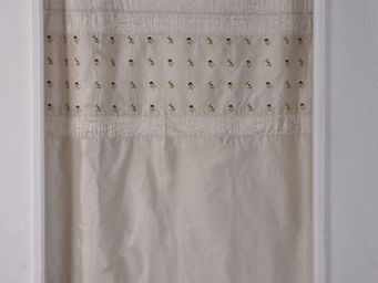 Coquecigrues - paire de rideaux balancelle ivoire - Tende Pronto Uso