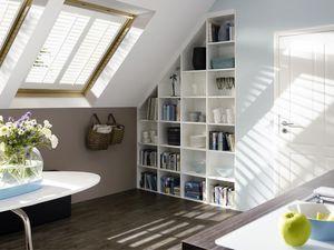 Jasno Shutters - shutters persiennes mobiles en fenêtre de toit - Persiana Interna