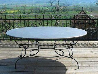 Replicata -  - Tavolo Da Giardino Ovale