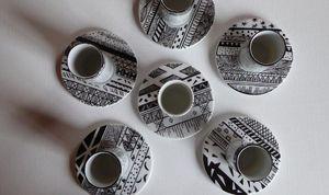 Tywacs Créations -  - Servizio Da Caffè