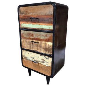 Mathi Design - meuble chiffonnier danish - Cassettiera