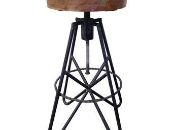 Mathi Design - tabouret de bar eiffel - Sgabello Da Bar