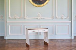 LOUIS-MARIE VINCENT - epistola - Scrittoio Bureau De Dame
