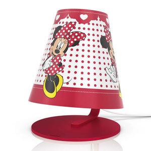Philips - disney - lampe de chevet led minnie mouse h24cm |  - Lampada Da Tavolo Bambino