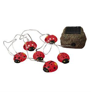Best Season - solar ladybugs - guirlande solaire extérieur led 6 - Oggetto Luminoso
