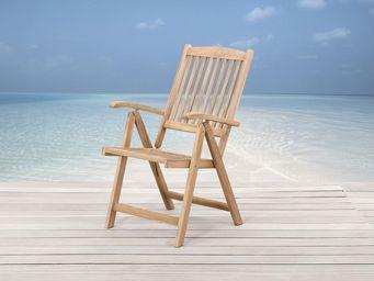 BELIANI - chaises en bois - Sedia Da Giardino