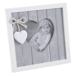 Aubry-Gaspard - cadre photo en bois a decorer - Cornice Portafoto