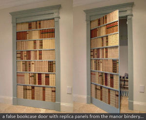 The Manor Bindery -  - Falsa Biblioteca