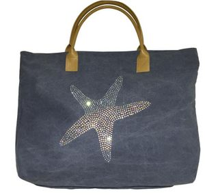 SHOW-ROOM - blue sea star - Borsa A Mano