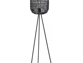Kare Design - lampadaire cestino - Lampada Da Terra Treppiede