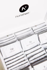 NUNSHEN - coffret mousselines 9 compartiments  - Scatola Tè