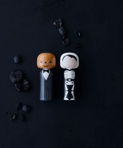 LUCIE KAAS - skeleton - Figurina