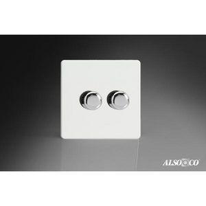ALSO & CO - double dimmer switch - Interruttore Doppio