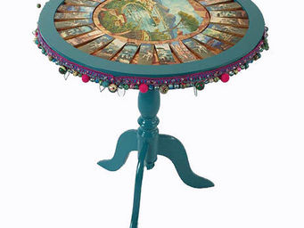 RELOADED DESIGN - mini table verso sud naples souvenir - medium - Tavolino Rotondo
